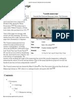 Voynich Manuscript - Wikipedia, The Free Encyclopedia