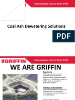 Coal Ash Dewatering Solution