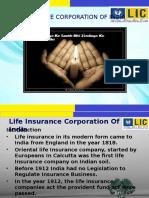LIC Presentation