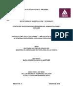 Tesis Completa Final - Propuesta Metodológica Para La Aplicación de Técnicas de Aprendizaje Acelerado