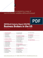 Business Brokers Industry Report