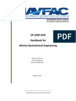 NAVFAC Handbook for Marine Geotechnical Engineering
