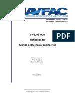 NAVFAC Handbook for Marine Geotechnical Engineering