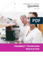 FAQs Pharmacy Technician Regulation 20150519