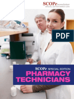 Scope Special Newsletter Pharmacy Technicians 03172015