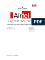 Airtel Advertising Affectiveness Vjmonga