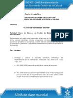 Actividad de Aprendizaje Unidad 2 Clases de Sistemas de Gestion