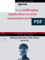 Making Machines Think About Security for Fun and Profit by Rahul Sasi