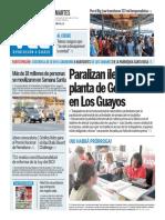 Diario Ciudad Valencia Edición 1.400 Martes 29 de Marzo de 2016