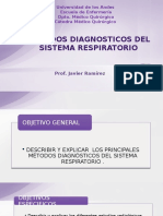 Metodos Diagnosticos Del Sistema Respiratorio