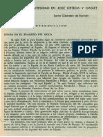 Concepto de Universidad de Jose Ortega y Gasset. (1)