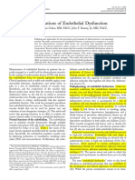 +The Clinical Implications of Endothelial Dysfunction