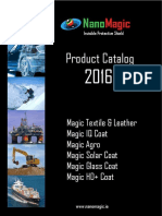 NanoMagic - Self-cleaning Coatings - Product Catalog