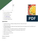 Tuna Macaroni Pasta