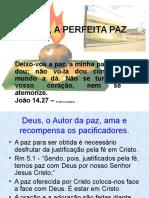 CRISTO, A PERFEITA PAZ escola dominical dia 17-08-08.ppt