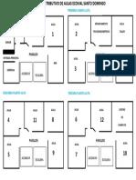 Mapa Distributivo de Aulas Ecovial Santo Domingo