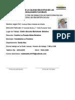Ficha Para Participantes en Proceso de Certif.