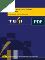 TE4I Literature Review