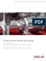 Pumps for Heat Transfer Technology