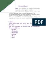 Microsoft Excel basico