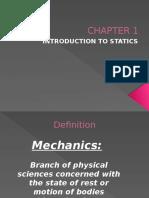 CHAPTER 1 statik dan dinamik