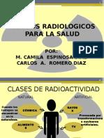 RIESGOS RADIALOGICOS