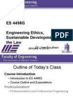 ES 4498G Lecture 1 - 2010