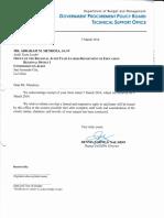 GPPB Reply