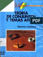 Teoria de Conjuntos y Temas Afines - Symour Lipschutz