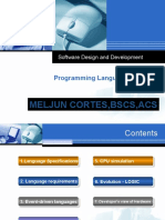 MELJUN Programming Languages Lecture