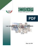 ACST007 Los Vehiculos de Procedencia Extranjera