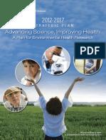 Niehs 20122017 Strategic Plan Frontiers in Environmental Health Sciences Booklet 508