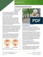 Parkinsons Disease and Environmental Factors 508