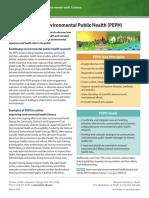 Partnerships for Environmental Public Health Peph 508