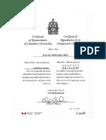 Cruz Renounces Canadian Citizenship