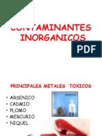 Contaminantes inorgánicos (1)