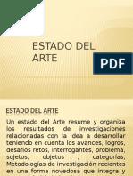 Que Es Estado Del Arte.ppt