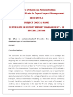 Certificate in Export Import Management - Copy