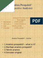 Analisis Prospektif Bab 9 Sesi 10