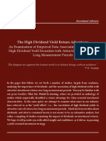 The High Dividend Yield Return Advantage