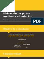 Ubicación de Pozos Mediante Simulación