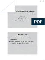 Fetal Cardiac Outflow Tract