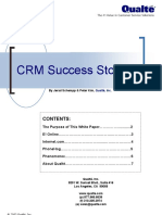CRM Sucess Stories