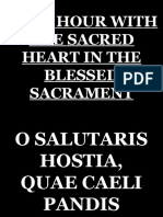 1st Friday- Holy Hour