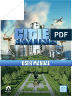 CitiesSkylines UserManual En