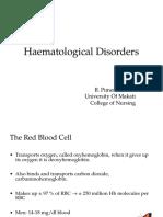 Transfusion Disorders