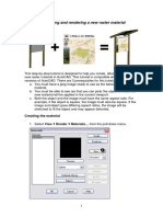 AutoCAD Raster Materials Tutorial