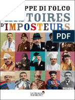 Histoires d'Imposteurs - Philippe Di Folco