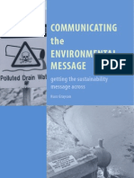 Communicating the Environmental Message