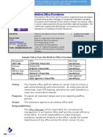 Bizmanualz Medical Office Policies and Procedures Sample